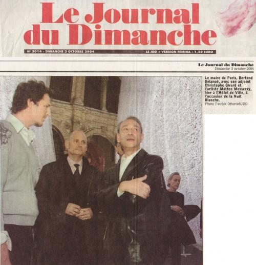Journal du dimanche - 2004