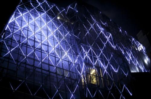 The Opus Building's, thonglor Bangkok, architectural lighting design