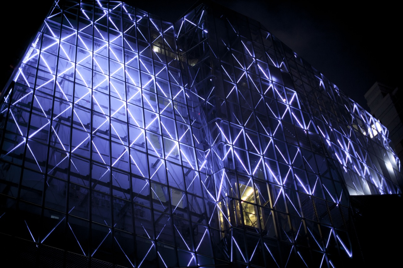 The Opus Building's, thonglor Bangkok, architectural lighting design