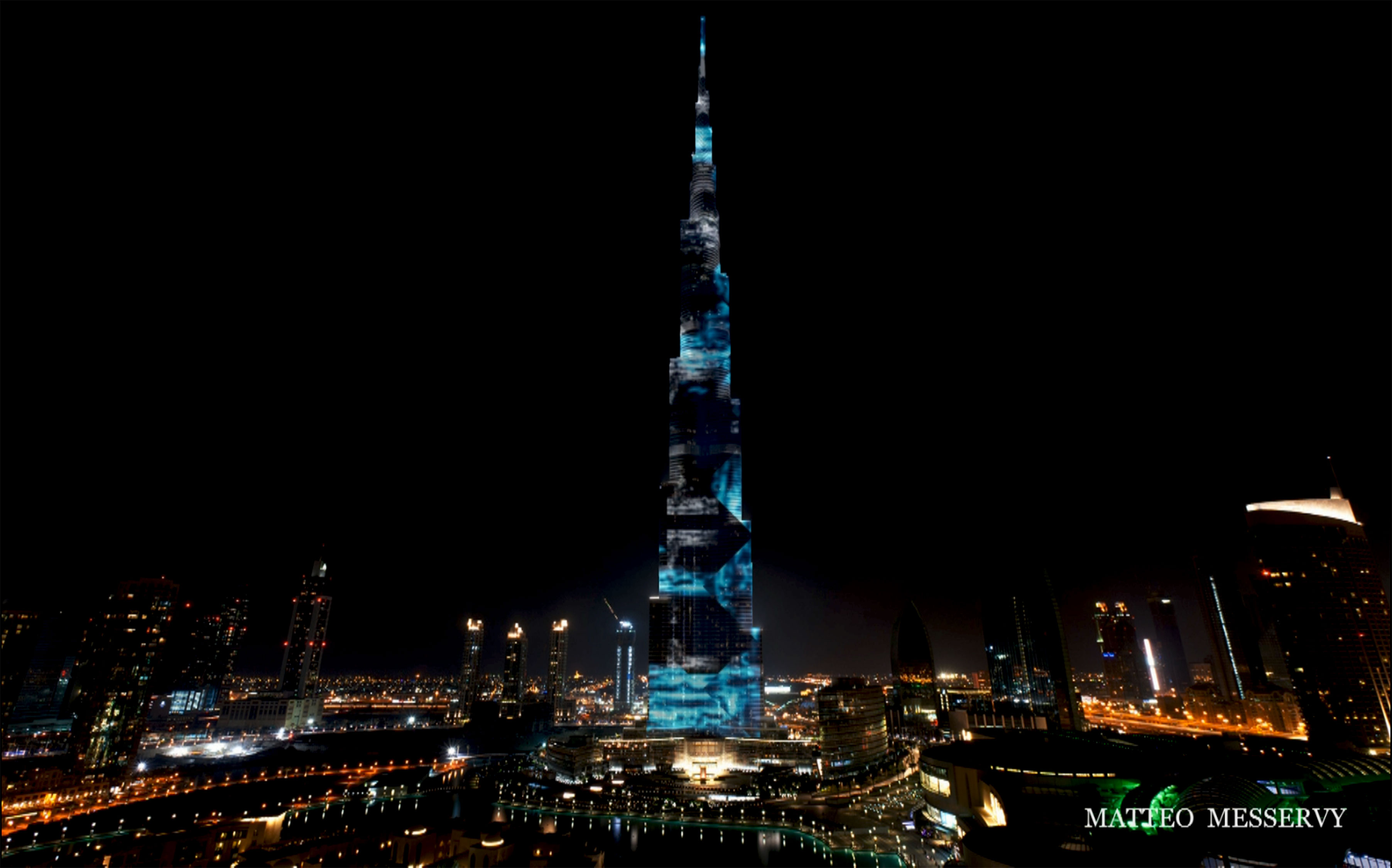 BurjKhalifa_LED mapping facade3